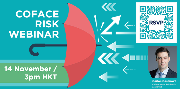 Coface Risk Webinar - 14 November / 3pm HKT